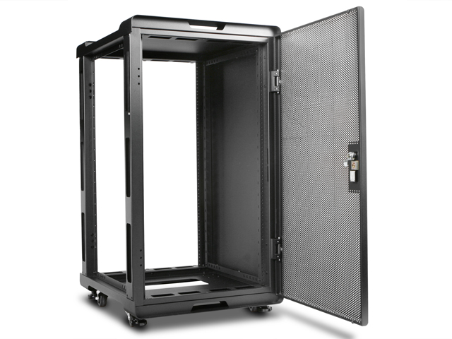 WS-2070B, 20U 700mm Depth Audio/Video Rackmount Cabinet | iStarUSA
